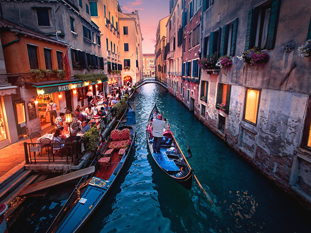 Venice in Summer_James Feng Design_Sydney Freelance Designer