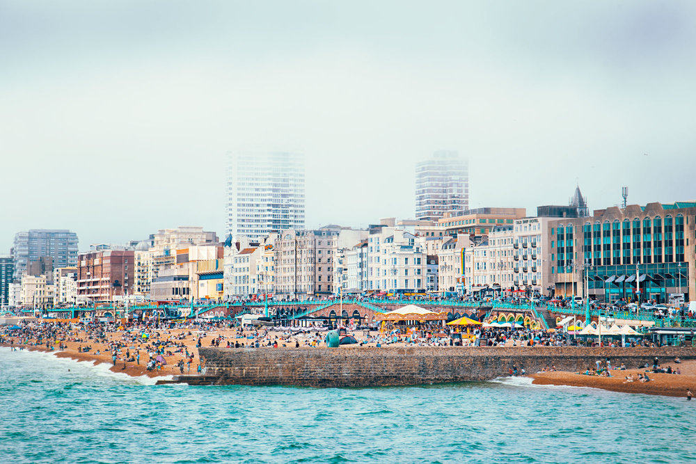 Brighton in Summer_James Feng Design_Sydney Freelance Designer