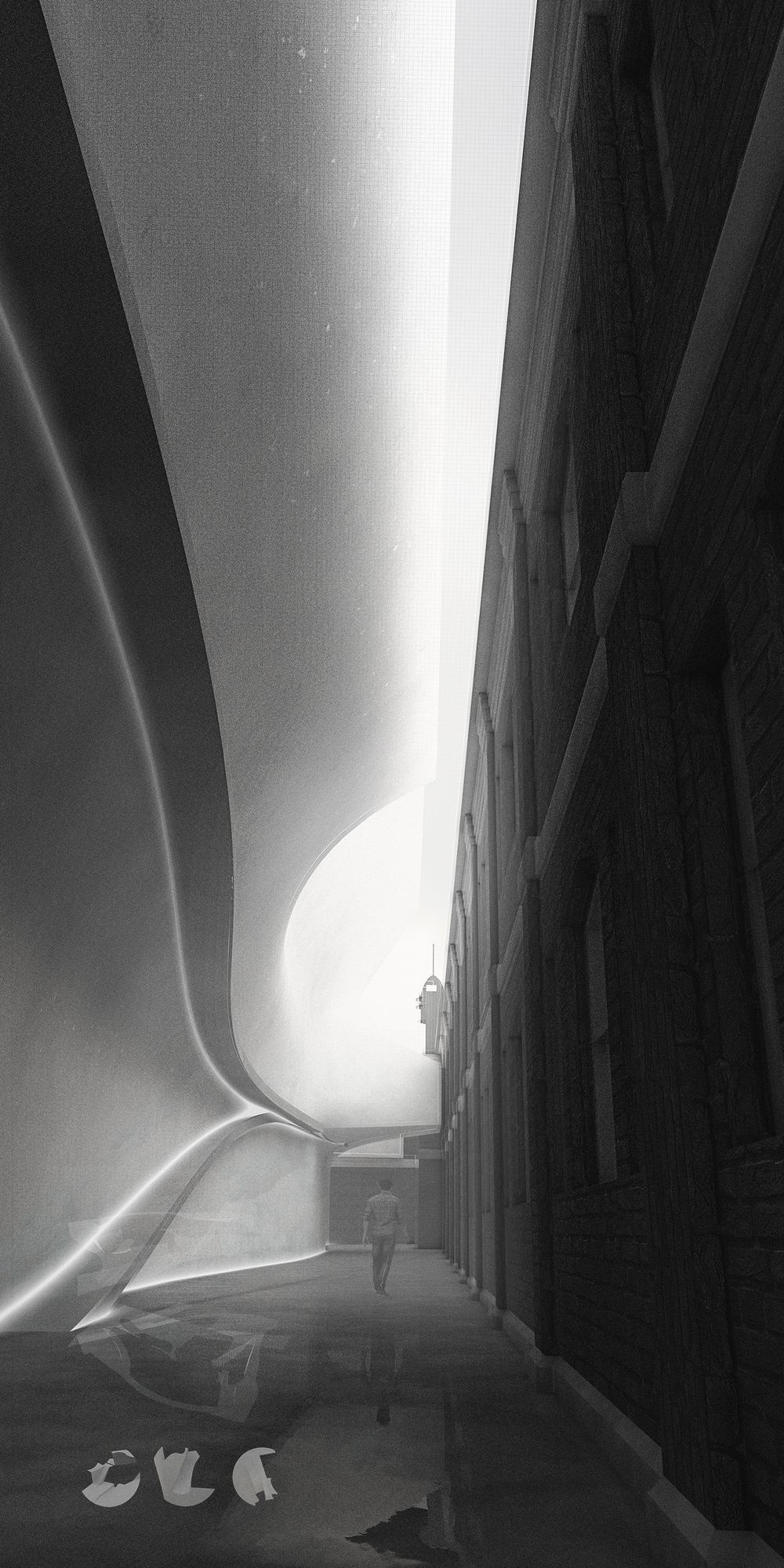 Interstitial Passage-Bridge between the Past & Present_James Feng Design_Sydney Freelance Designer