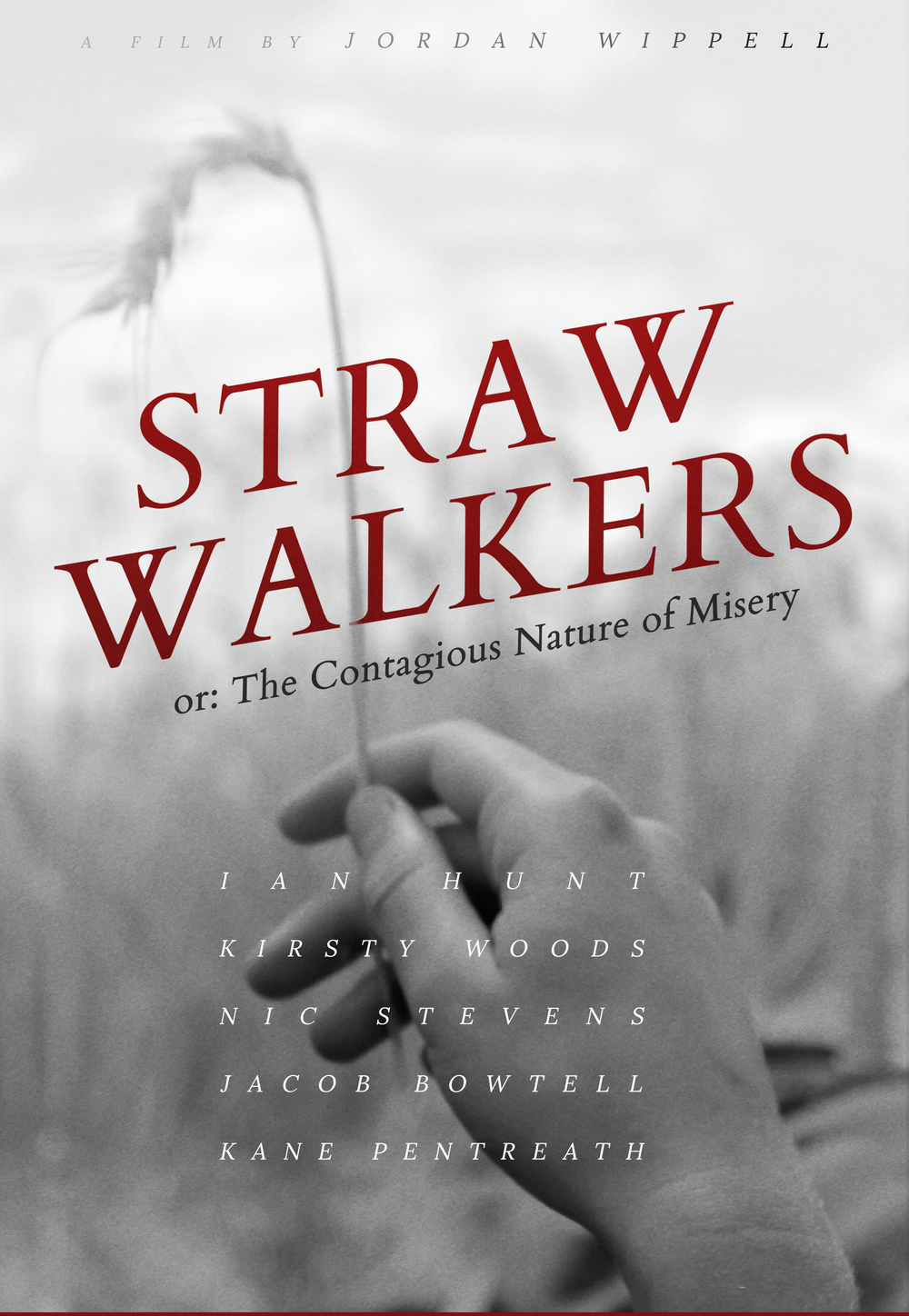 straw walkers or: the contagious nature of misery (2019)