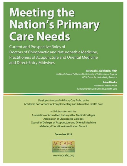 Primary Care Project — Academic Collaborative for Integrative Health