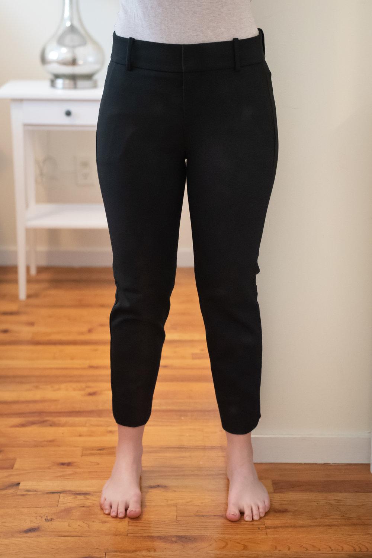 J. Crew Cameron Slim Crop Pant - Size 6 Petite - Front View