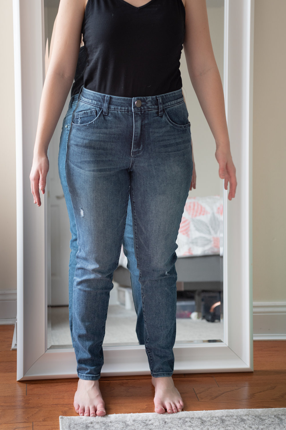 Wit & Wisdom Ab-Solution High Waist Skinny Jeans - Size 6 Petite