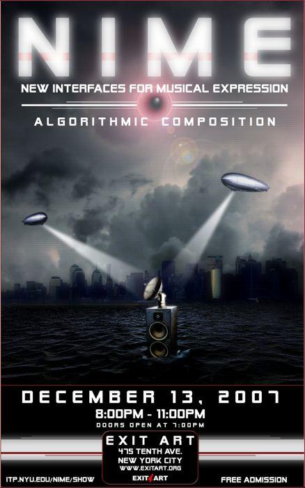 NIME Poster Design