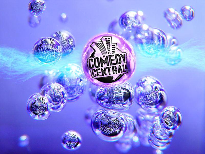 Comedy Central Banner Design