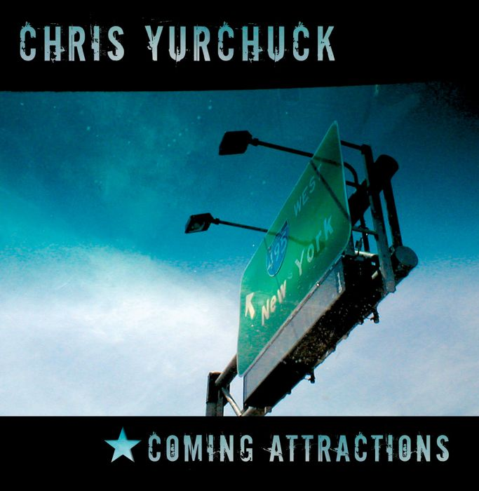 Chris Yurchuck CD Cover Art: Front