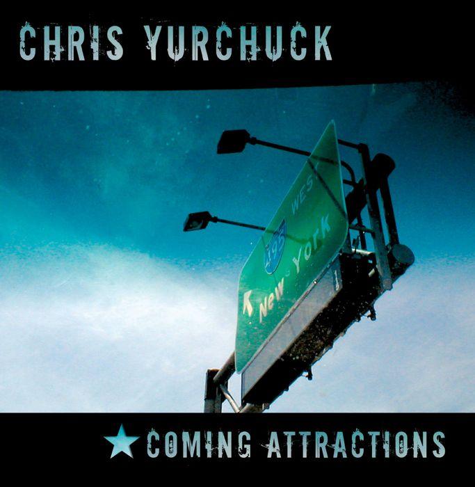 Chris Yurchuck CD Cover Art: Front