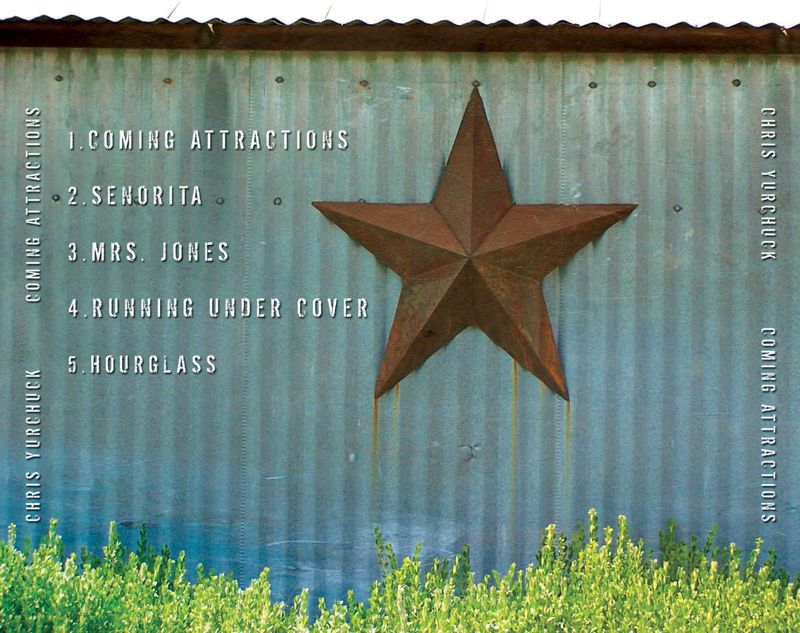 Chris Yurchuck  CD Cover Art: Back