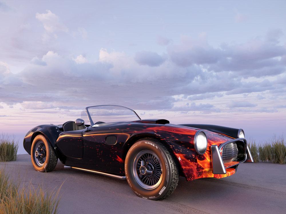 AC Shelby Cobra from Turbosquid