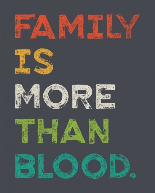 Blood And Family Face Your Front