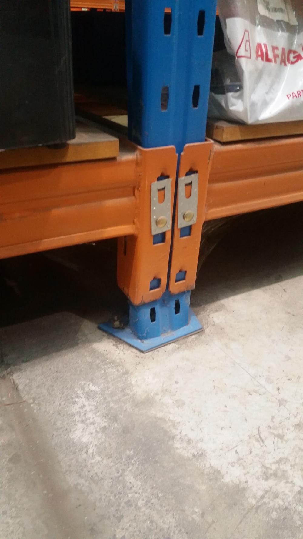 Baseplate Pallet Rack