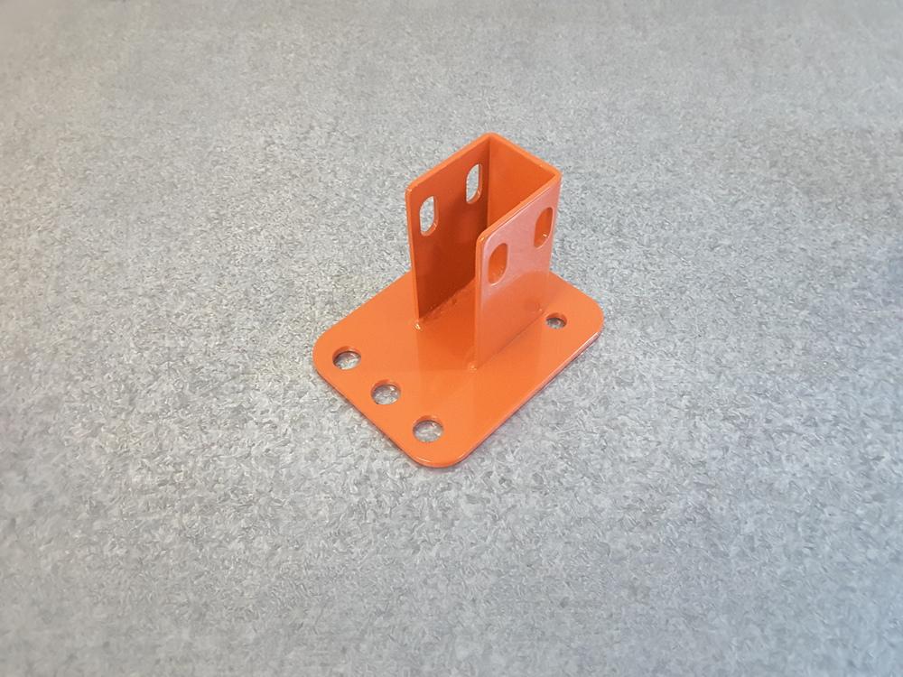 Reversible Pallet Racking Baseplate