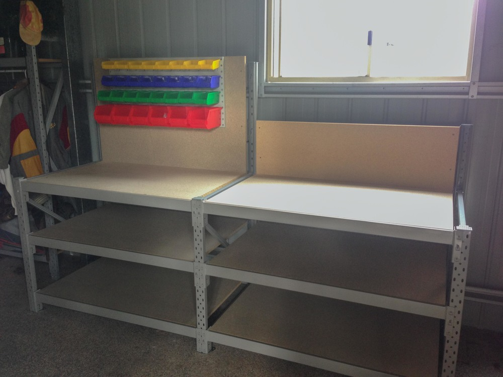 Longspan Shelving Work bench