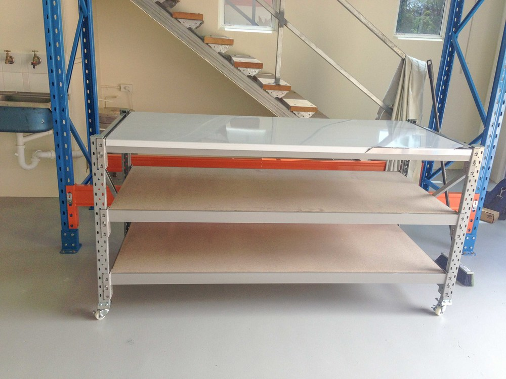 Industrial Longspan bench