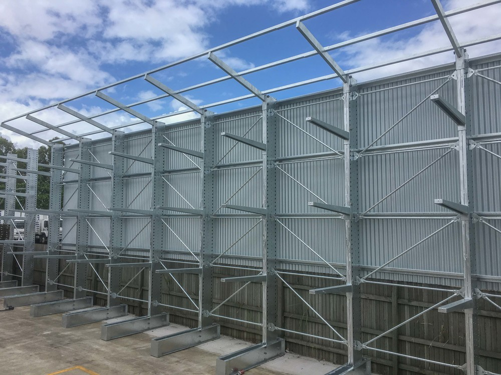 Outdoor Timber Racking