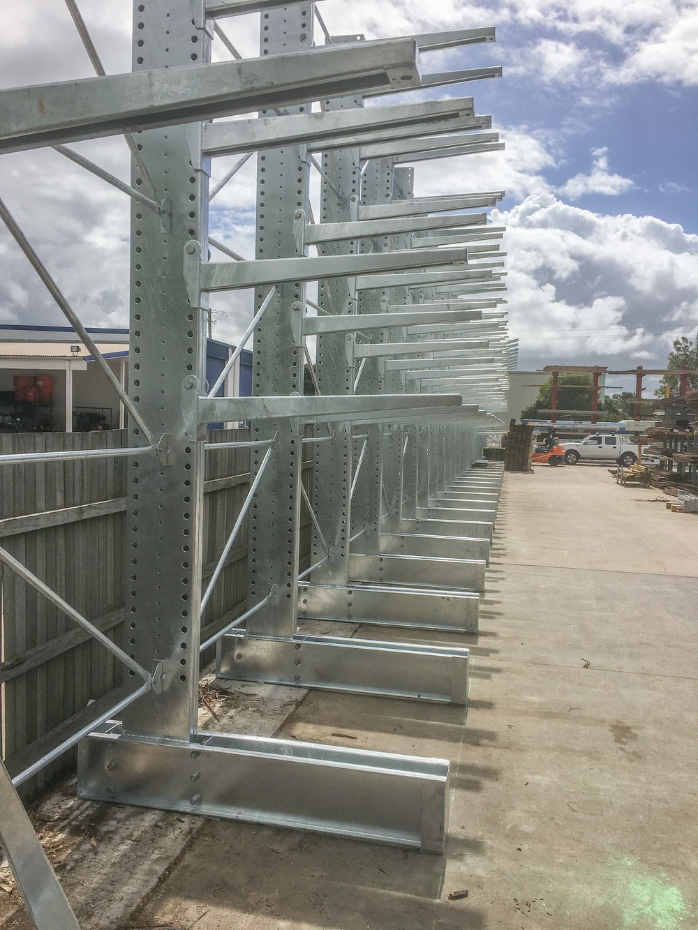 Galvanised Timber Racking