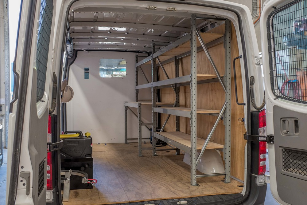 Van Shelving Brisbane Modular Storage Systems