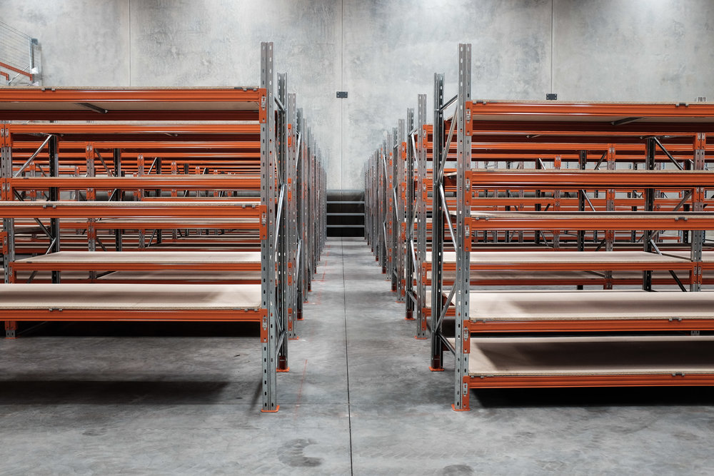 Shelving supplier Warwick
