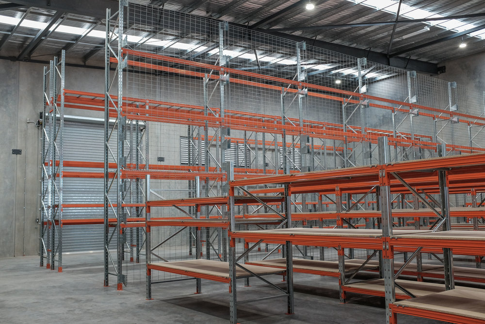 Pallet Racking installation Warwick