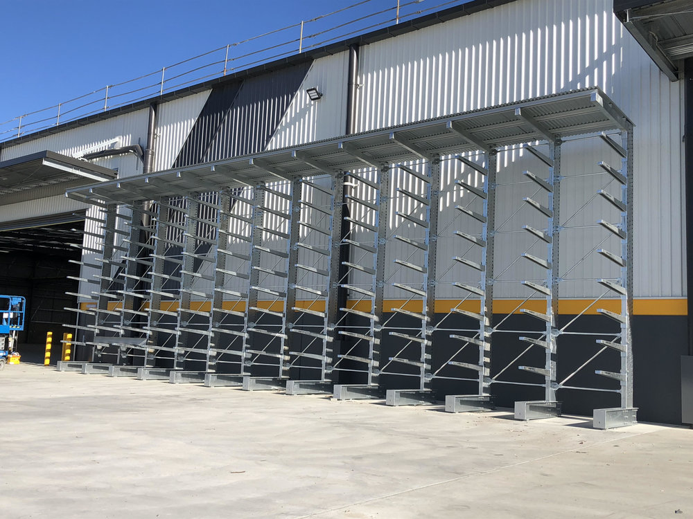Galvanised Cantilever Rack