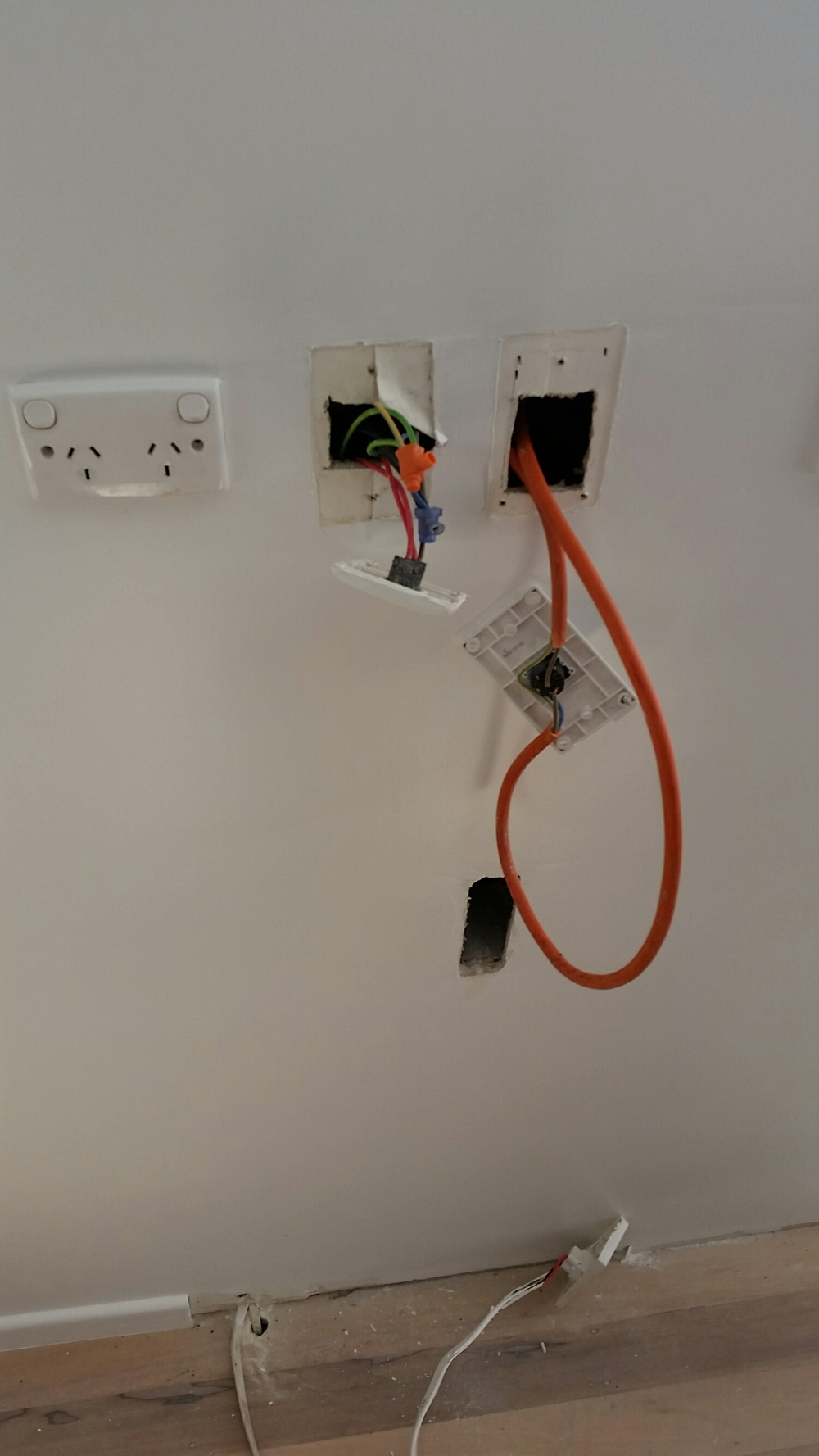 Daily Happenings Southpaw Electrical Ltd Scary Wiring We Found This In A Wall Today Dont Let Happen To You Make Sure Any Works Are Certified And Signed Off On Completion Its Find