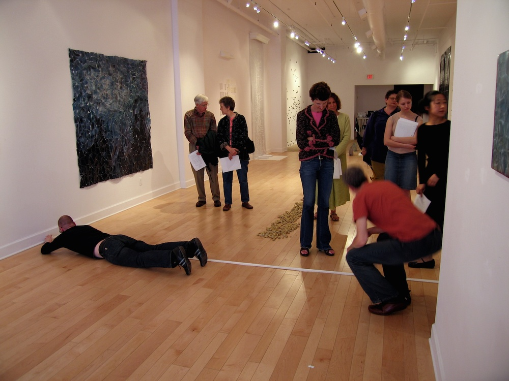 Slow Measured Crawl II , 2006    Performance Art