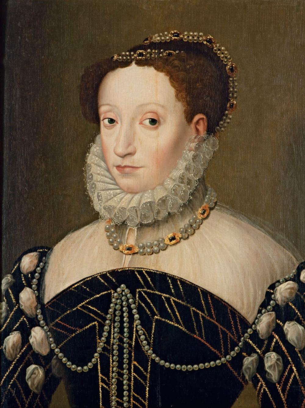 Catherine de Medici Portrait (Link on image to site of origin)