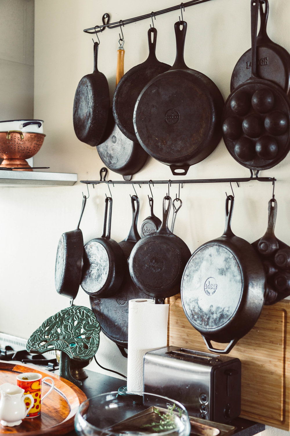 Photo by The Curated Feast of Nanna's cast irons