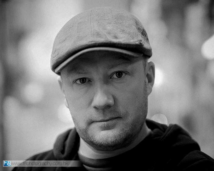 Portrait of me taken by good friend Dean on the Leica 50 lux ASPH.