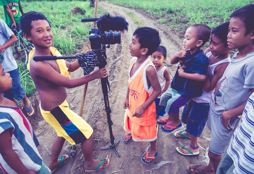 F8 filming in Southern Philippines for ABN AMRO, circa 2011.