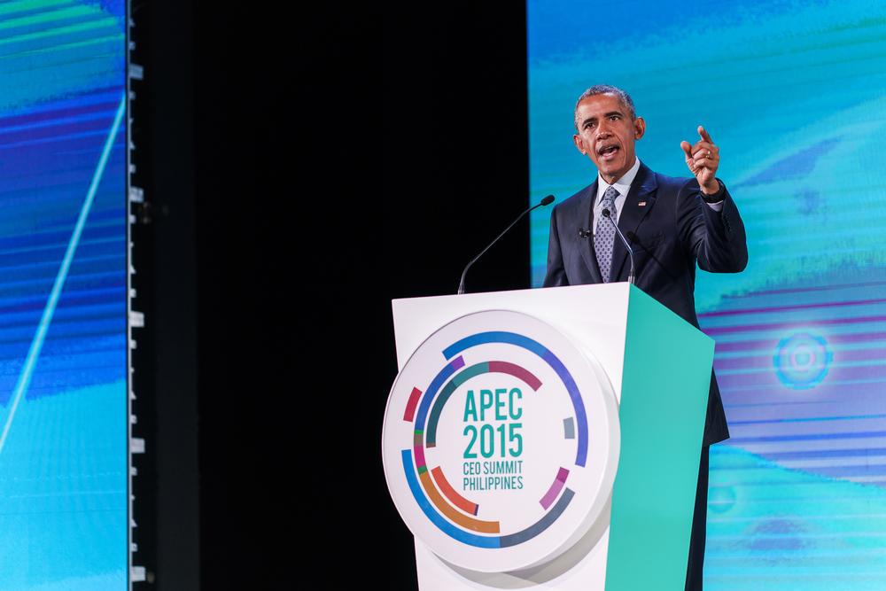 President Obama, APEC 2015, November 2015.