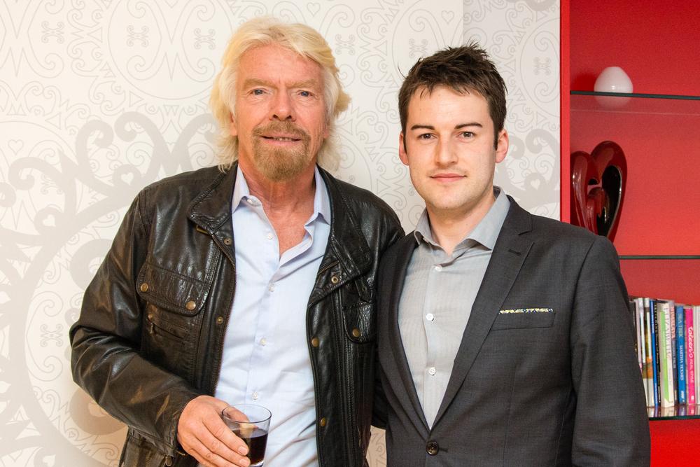 Ian Mason & Richard Branson