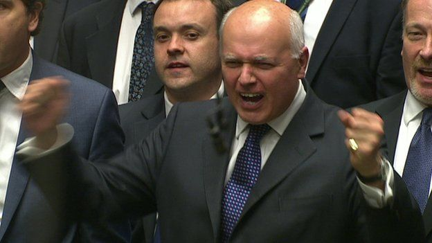 Duncan Smith was later seen topless with war-paint on his face running through an abandoned car-park. Current whereabouts unknown