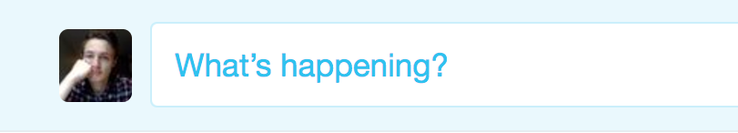'What's happening?' indeed Twitter.