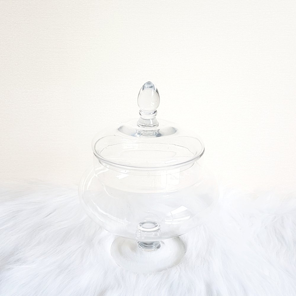 Belle Ball Apothecary Jar - 2 available  $13