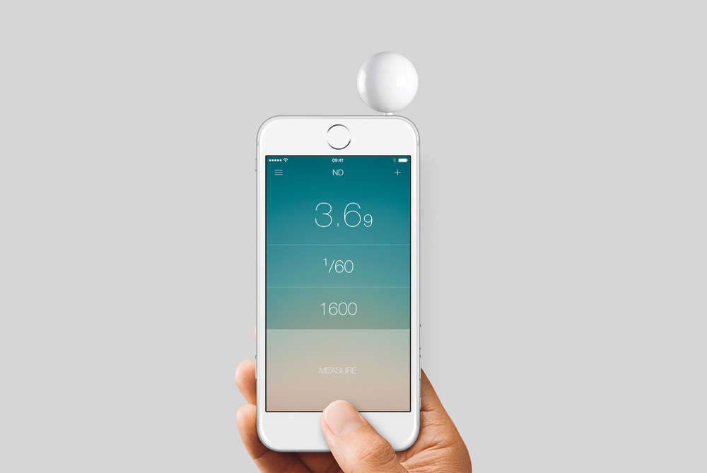 Lumu Digital Lightmeter for iPhone