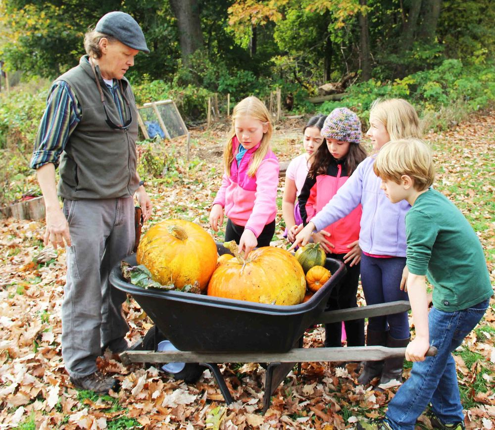 At WSL, kids garden, compost, and explore the 185-acre Great Meadows conservation land.