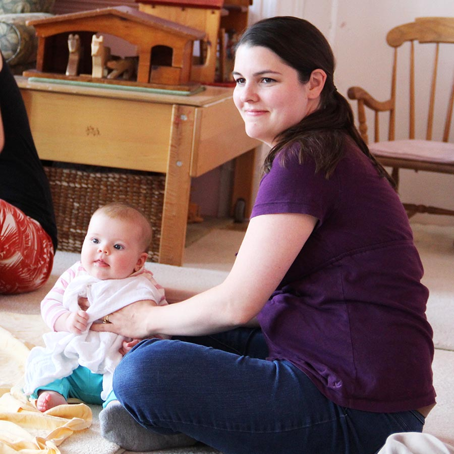 Rosebuds 1 afternoon 5– and 7–week sessions 6 weeks to 10 months