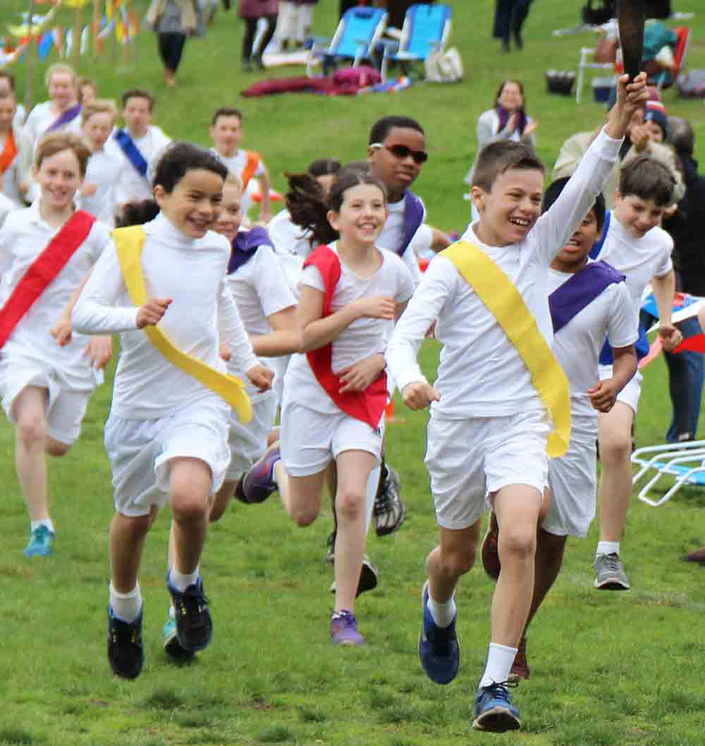 The Fifth Grade Olympic Pentathlon embodies key attributes of a Waldorf education: joyful participation, best effort, good sportsmanship, and the lighting of a flame that lasts a lifetime.