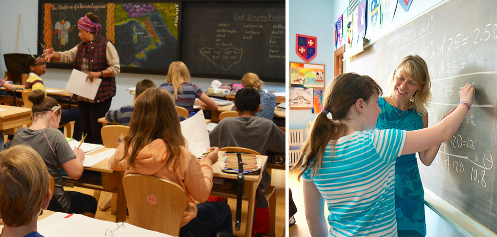We all know that the best teacher is not a computer – it's a great teacher! At the Waldorf School, our curriculum is media-free, our faculty is outstanding, and our students thrive. Learn more today.