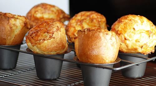 Get 'em while they're hot...Geneva's famous, fresh-baked popovers!