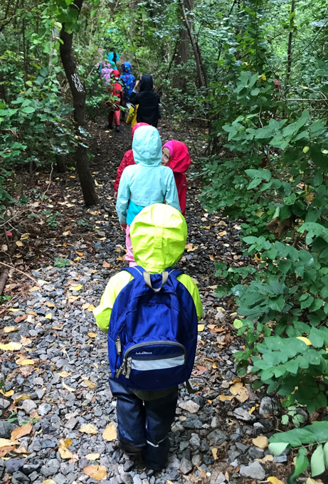 Early childhood teachers delight in exploring the wonders of the natural world with students.