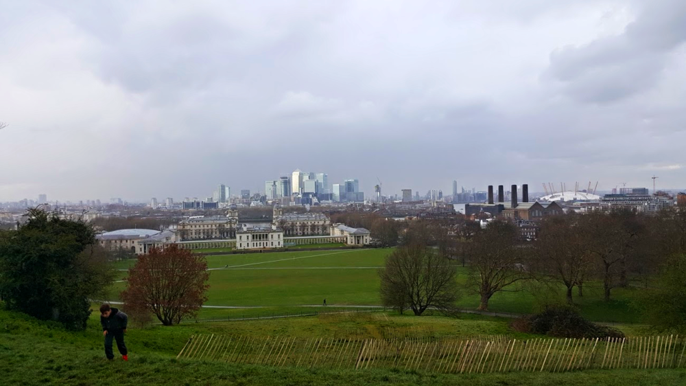 View from the Greenwich planetarium
