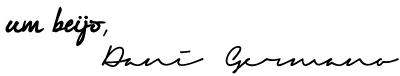 Blog Zerovinteum | Um beijo, Dani Germano