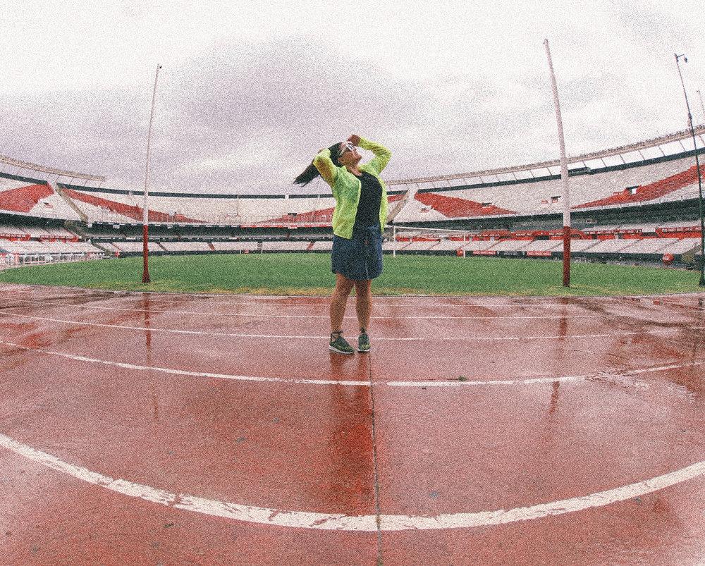 River Plate :: Monumental :: Quando que um temporal poderia estragar um passeio desse, bicho? Nunca, pelo contrário, deixou ainda mais intenso! 🖤