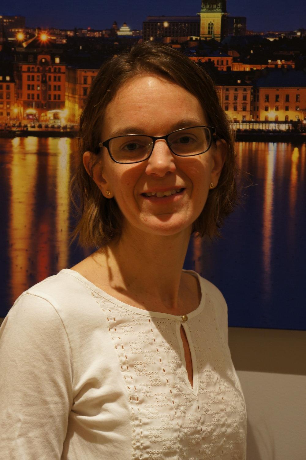 Karin Staaf, Senior Scientific Officer, Arbetsmiljöverket