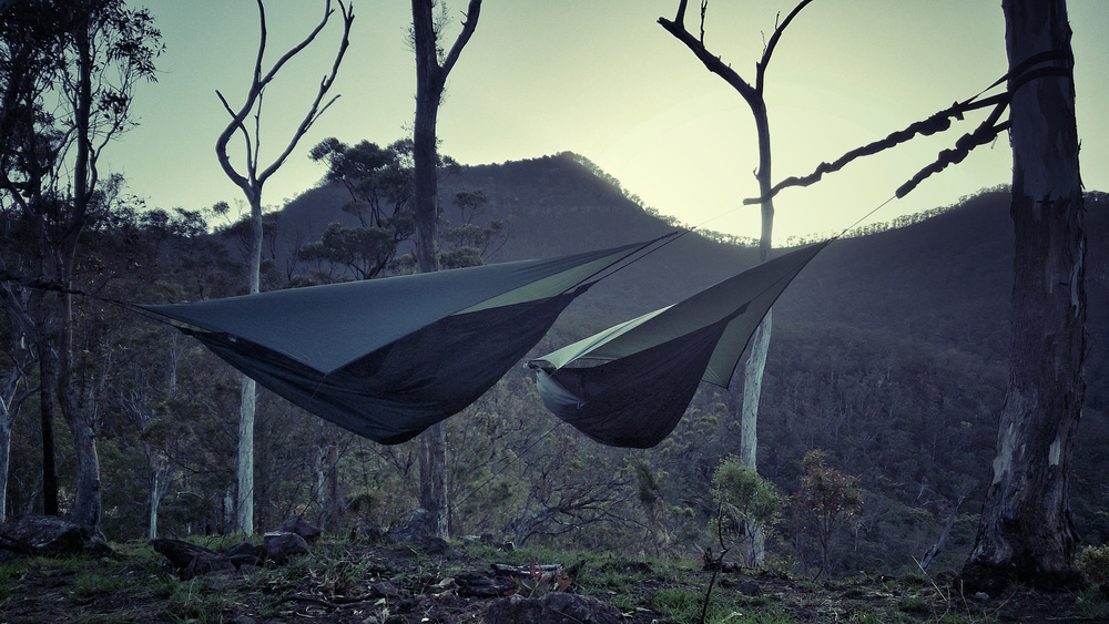 Medium image of hammock camping in main range national park  u2013 queensland australia