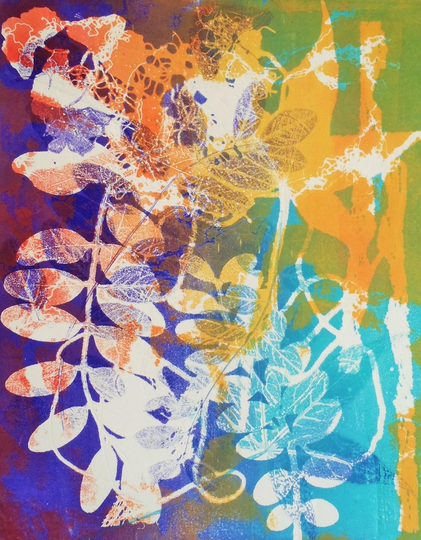 "Sunstruck, Monotype, 14""x11"""