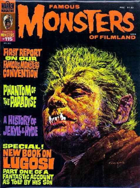 Famous Monsters of Filmland, Issue 115: 1975