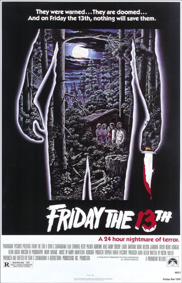 Friday the 13th film poster, 1980